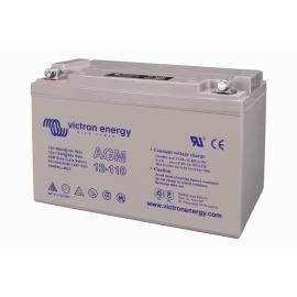 Batería AGM VICTRON de 12V 110Ah C20 400 ciclos 330x171x220mm 32 kg