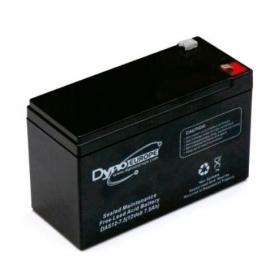 Batería AGM de 12V 1.2Ah C20 500 ciclos 97x43x58mm 0.6 kg