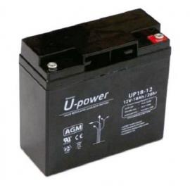 Batería AGM de 12V 18Ah C20 500 ciclos 181x77x167mm 5.7 kg
