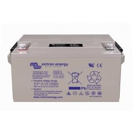 Batería GEL VICTRON de 12V 66Ah C20 600 ciclos 258x166x235mm 24 kg