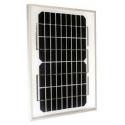 Panel Solar Policristalino 5W-17'6V-0'29A-200X290X18mm-1 kg