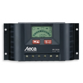 Regulador Solar Steca PR 3030 12/24VDC 30A Automatico LCD