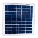 Panel Solar Policristalino 15W-17'4V-0'86A-372X372X30mm-1.6 kg